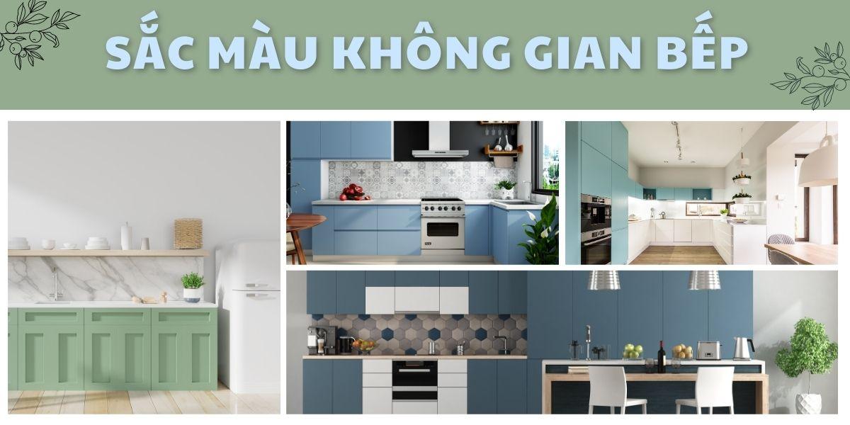 6 gam màu sẽ mang đến cảm hứng trong không gian nhà bếp