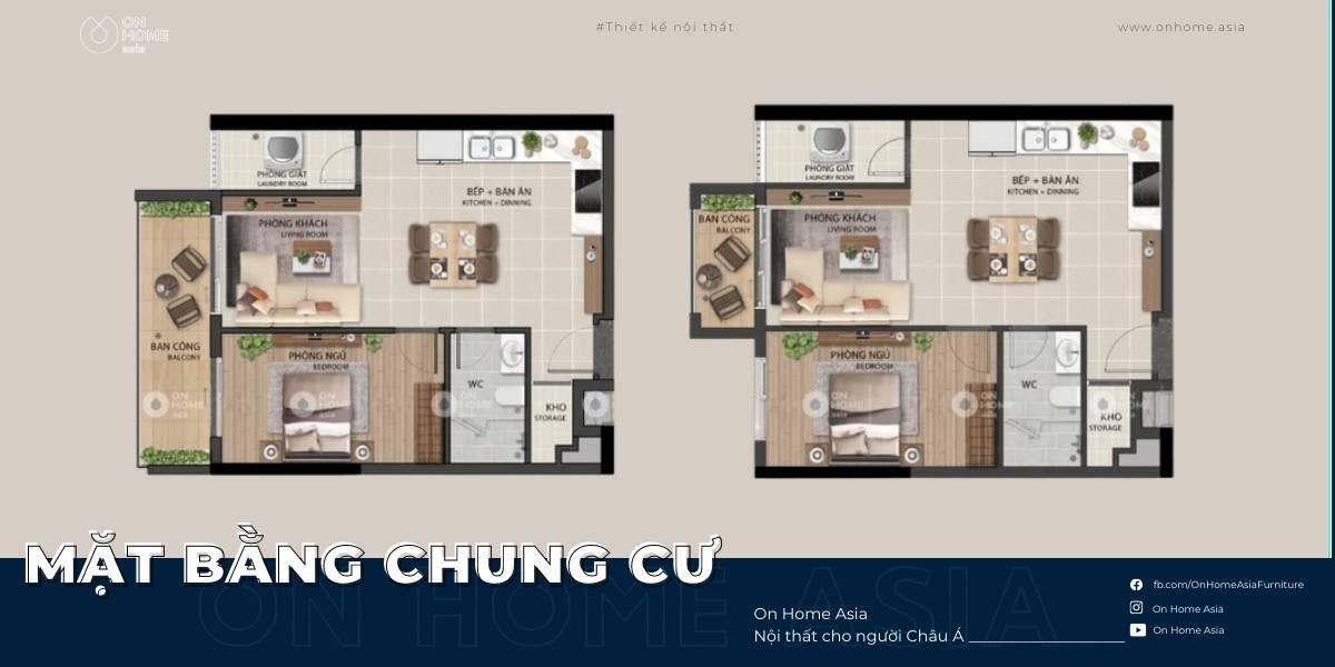 [Mặt bằng chung cư] tổng hợp những mặt bằng căn hộ đẹp cao cấp