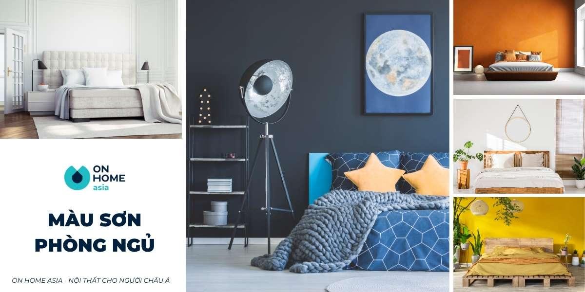 80+ mẫu màu sơn phòng ngủ đẹp cần ứng dụng ngay cho căn phòng của bạn