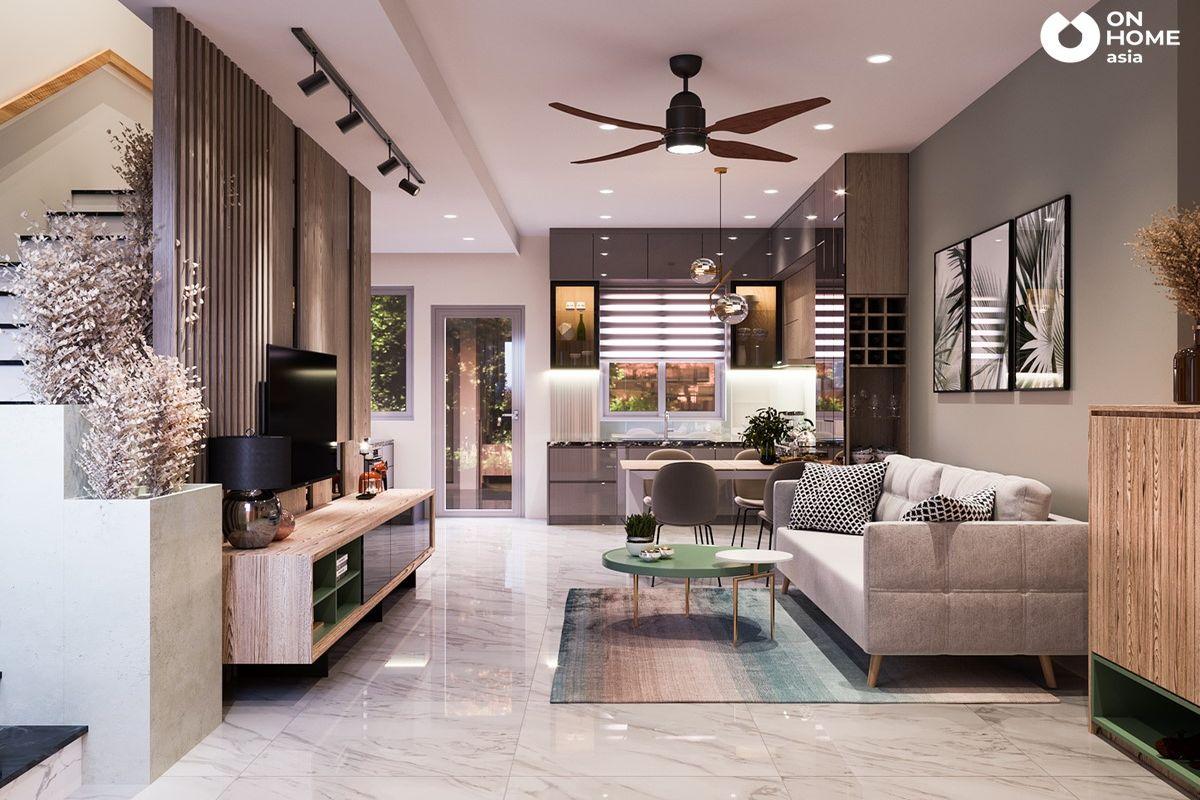 Sun Casa |Tiến độ 【06/2021】 Thiết kế thi công nội thất nhà phố
