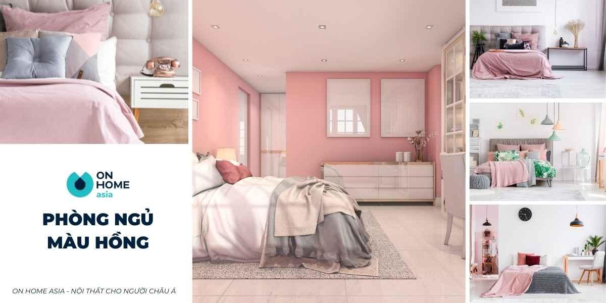 Tổng hợp 20+ mẫu phòng ngủ màu hồng đẹp mê ly